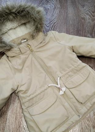 Парка куртка hm