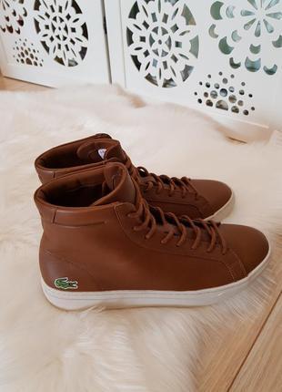 Мужские ботинки lacoste. новые