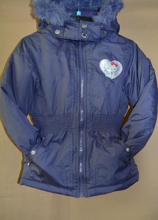 Куртка детская disney германия евро зима размер 5-6 лет