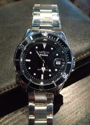Оригинальные мужские часы winner/механические часы