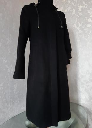 Пальто демисезонное, шерсть, р.s-m
