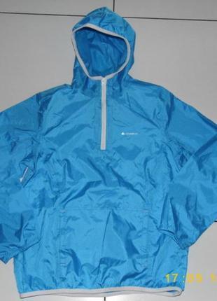 Куртка дождевик - анорак - quechua - 125/142 - 8-10 ans - индия - сток!!!decathlon