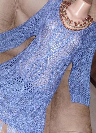 Joana hope свитер ажурный рр 12 рр14