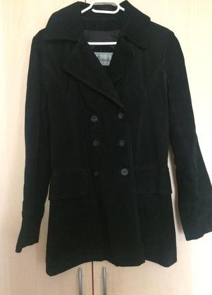 Пиджак женский замшевый