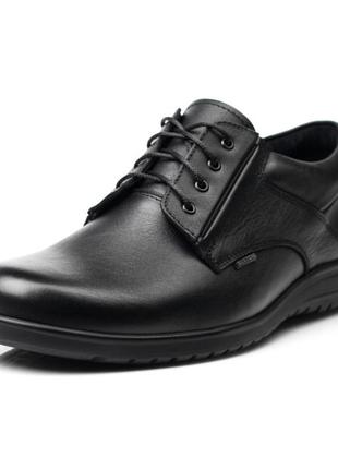 Мужские кожаные туфли bertoni
