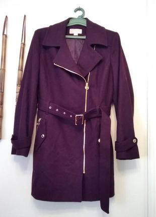 Новое,драповое,шерстяное,красивое пальто michael kors