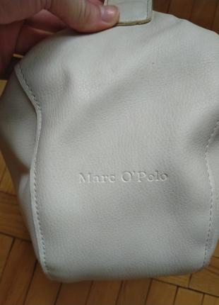 Кожаная сумка marc o'polo