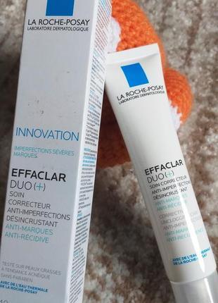 Effaclar duo(+) корректирующий крем-гель для проблемной кожи  постакне
