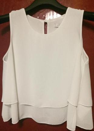 Шифонова блуза,топ today