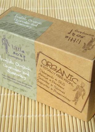 Органическое мыло английского эко-бренда little soap company.