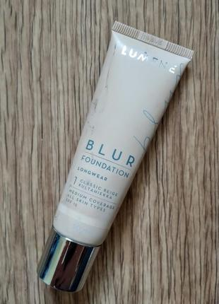Тональный blur foundation lumene