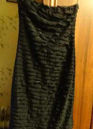 Платье без шлеек