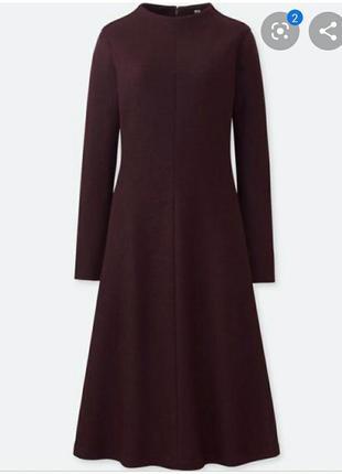 Uniqlo шерстяное платье