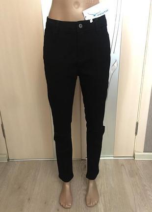 Чёрные штаны размер 30