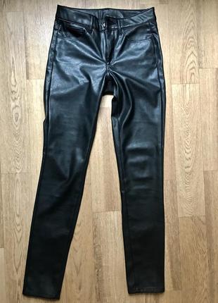 Кожаные штаны, штаны из экокожи