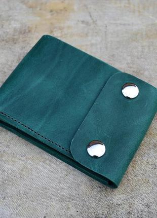 Кошелек ручной работы из кожи шкіряний гаманець