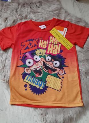 Забавная футболка на мальчика с зомби
