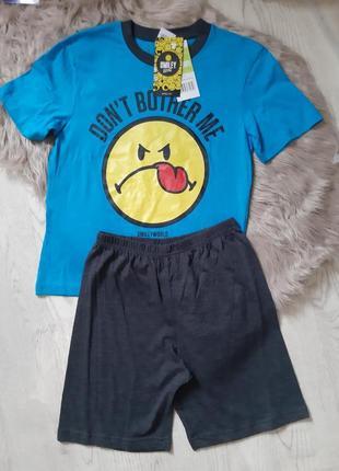 Пижама шорты и футболка smile world