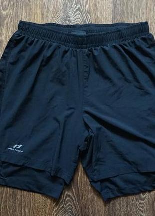 Мужские спортивные шорты pro touch 2в1