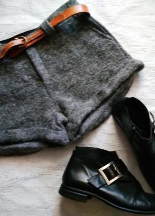 S.nob трендовые,  классные шорты супер тёплые1 фото