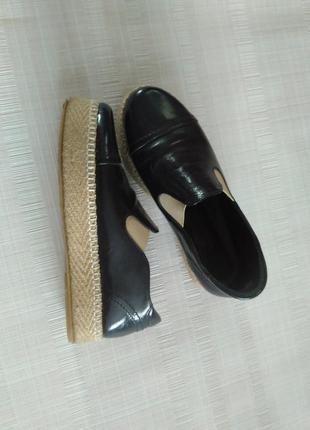 Шкіряні черевички 38р.