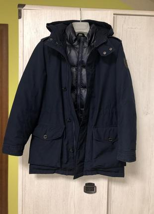 Зимняя пуховая куртка tommy hilfiger р.152-158 {оригинал}.