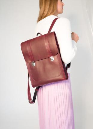 Рюкзак из натуральной кожи рюкзак ручной работы longpack