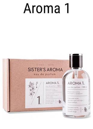 Стойкие духи aroma sisters aroma 2,4,19,25,27