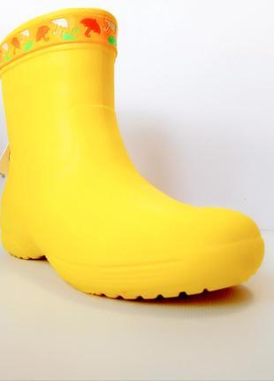Супер легкие непромокаемые сапожки из пены эва, резиновые сапоги
