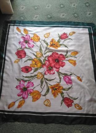Божественный шёлковый платок