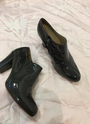 Туфли полуботинки clarks