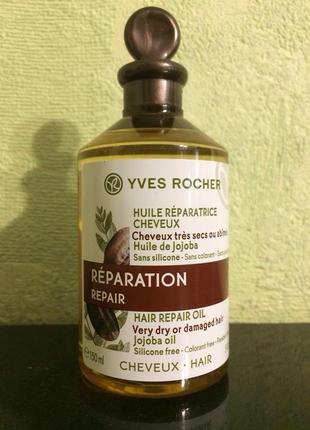 Восстанавливающее масло для волос ив роше