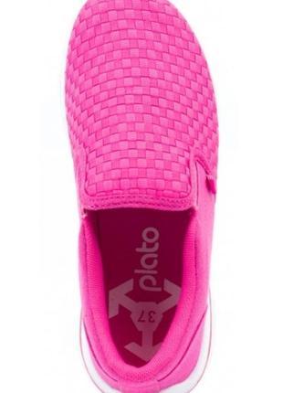 Тапки тапочки кроссовки кроссы мокасины кеды розовые яркие