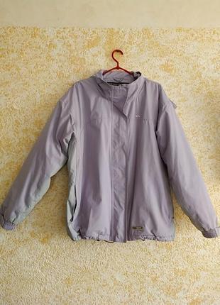 Лавандовая водонипронецаемая курточка с утеплителем