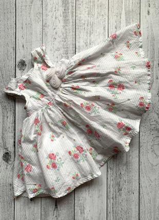 Платье mothercare нарядное на выписку крестины фотосессию 0-1-3 месяца сукня плаття