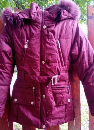 Крутая зимняя курточка на подростка
