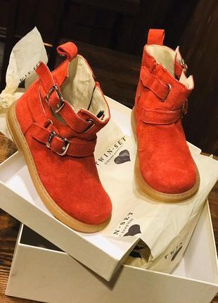 Мега стильные ботинки для маленькой модницы!!!