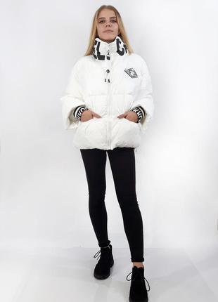 Куртка женская зимняя rufuete. оригинальный белый цвет