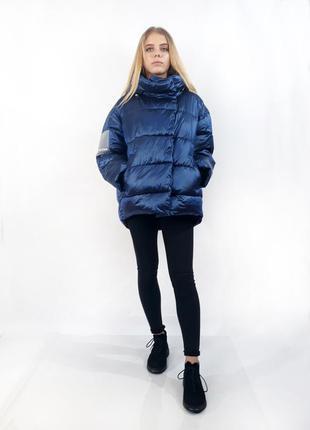 Куртка женская зимняя rufuete. синий цвет