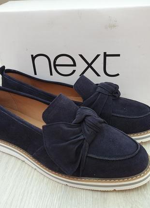 Лоферы женские фирмы next,туфли