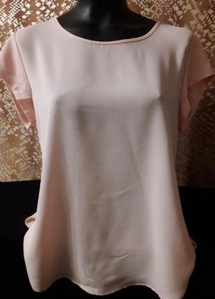 Нежная блуза цвета пудры фирмы oily