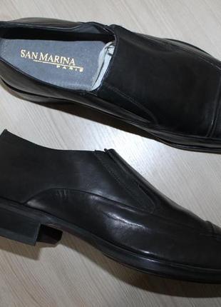 Кожаные туфли san marina