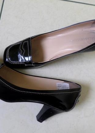 Salamander шкіряні туфлі 40-41р