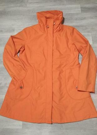 Женская оранжевая курточка/ плащ