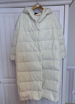 Пуховик -одеяло, куртка, оверсайз , тёплая, зимняя, стильная