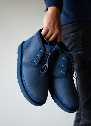 Угги мужские ugg neumel blue (зима)