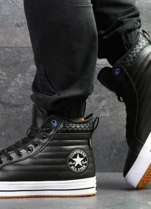 Осень мужские ботинки высокие кроссовки  converse all star