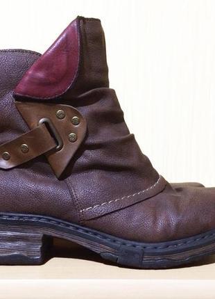Женские ботинки rieker 37р