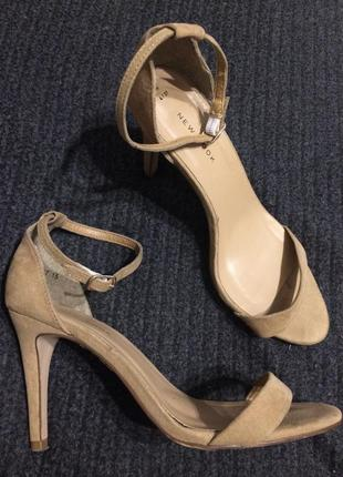 New look замшевые сандалии босоножки