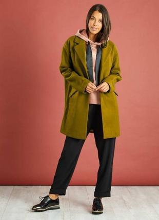 Женское пальто оверсайз французского бренда kiabi, l, сток европа  оригинал